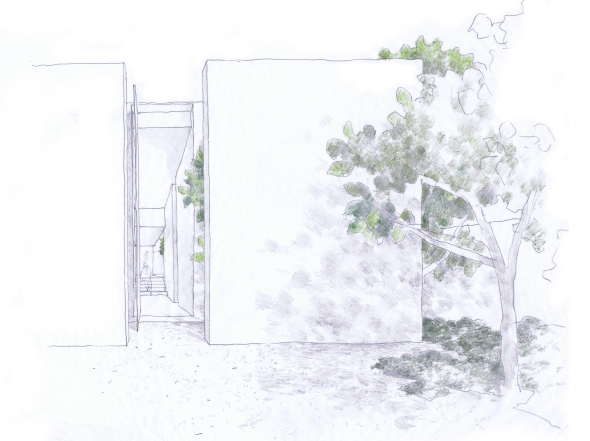 studiofour_bourne road residence_perspective 01