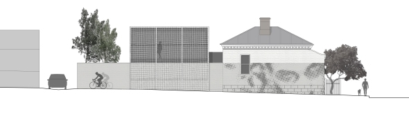 george street residence_street elevation