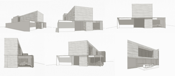 studiofour_lawnhill road residence_materiality studies